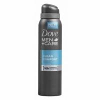 DOVE дезодорант антиперспирант мужской Clean Comfort (Экстра Уход), 150мл