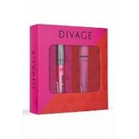 Divage Набор подарочный № 65 (тушь для ресниц `90х60х90` № 6101   блеск для губ crystal shine № 06)