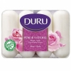 Duru Pure and Natural мыло 4*85г Роза