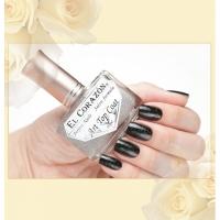 El Corazon Лак для ногтей Perfekt Nails 421/1 Верхнее покрытие-закрепитель с акриловыми  и голографическими блестками  16мл.