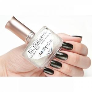 El Corazon Лак для ногтей Perfect Nails Закрепитель с №421/2 золото код м48916