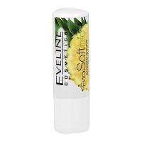 Eveline Extra Soft bio Бальзам для губ Pineapple, 4.5г