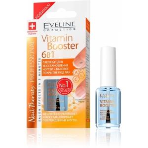 Eveline Nail Therapy Professional VitaminB 6в1 восстановление база под лак 12мл по 3шт