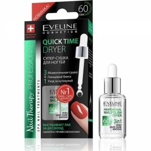 Eveline Nail Therapy Quick Супер сушка для ногтей ,12мл