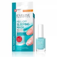 Eveline Nail Therapy Маска для ногтей восстанивление и питание Peel-Off Sleeping, 12м