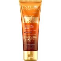 Eveline Summer Gold Автозагар - гель для лица и  тела 3в1, 100мл смуглый