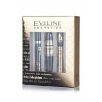 Eveline Набор Тушь Grand Coutur, 10мл   Сыворотка для ресниц 5в1, 10мл   Корректор для бровей бесцветный, 9мл