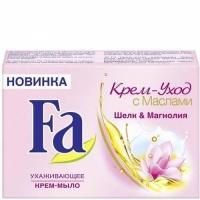FA мыло Шелк   Магнолия, 90г