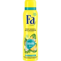 FA дезодорант спрей Гавайи Fun, 150мл