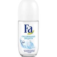 FA дезодорант ролик Прозрачная защита, 50мл