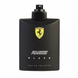 Ferrari Scuderia Black edt, 125ml Tester туалетная вода для мужчин
