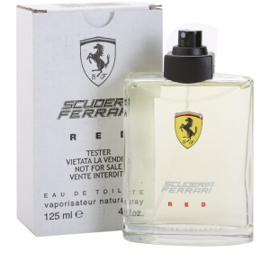 Ferrari Scuderia Red edt, 125ml Tester туалетная вода для мужчин