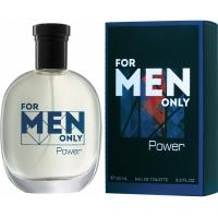 For Men Only Power Фо Мэн Онли Пауэр edt, 100ml туалетная вода для мужчин Brocard