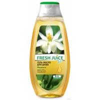 Fresh Juice Гель - масло для душа Моринга, 400мл
