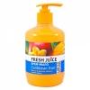 """Fresh Juice Жидкое крем-мыло """"Caribbean Fruit'' Манго и цветок лимона с маслом арганы 460ml Ф с дозатором"""