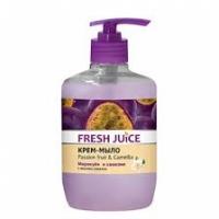 Fresh Juice Жидкое мыло Маракуйя и Камелия, 460мл дозатор