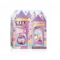 Funny PRINCESS Набор edp, 30ml душистая вода для девочек   Шампунь - пена, 150ml City parfum,
