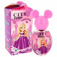 Funny PRINCESS edp, 30ml душистая вода для девочек City parfum,