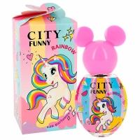 Funny RAINBOW edp, 30ml душистая вода для девочек City parfum,