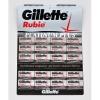 GILLETTE лезвия Platinum 1 лист (ENG)