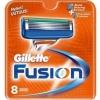 GILLETTE сменные кассеты Fusion 8 шт (ENG)