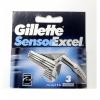 GILLETTE сменные кассеты Sensor Excel 3 шт (ENG)