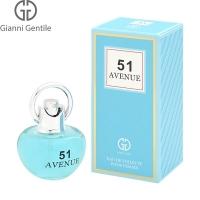 Gianni Gentile Avenue 51 Набор edt, 50ml женская туалетная вода   дезодорант, 75мл