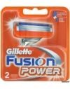 GILLETTE сменные кассеты Fusion Power 2 шт (ENG)