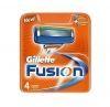 GILLETTE сменные кассеты Fusion 4 шт (RUS)