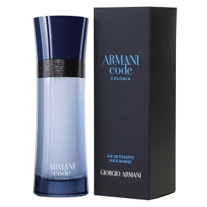 Giorgio Armani Code Colonia pour Homme edt, 50ml мужская туалетная вода
