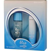 Jean Marc Подарочный Набор женский Blue Caffe Парфюмерная вода   дезодорант косметич