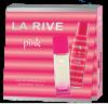 La Rive For Woman Pink (Ла Рив Пинк) Набор для женщин edp, 90ml   deo, 150ml