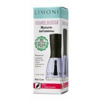 LIMONI Рост и укрепление для ногтей Vitamin Booster ультивитамины 7 ml