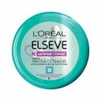 L'oreal Elseve Маска для волос Extraordinary Clay Re-Balancing 3 Ценные Глины 150мл