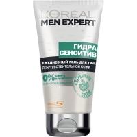 L'oreal Men Expert Гель для умывания Hydra Sensitiv, 150мл