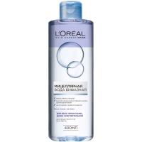 L'oreal Мицеллярная вода Бифазная для всех типов кожи. 400мл
