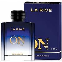 La Rive Just On Time (Джаст он тайм) edt, 100ml туалетная вода для мужчин