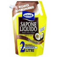 MIL MIL Жидкое мыло Coconut Vanilla Bag, 2л дой-пак