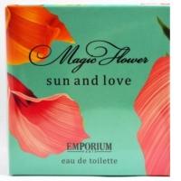 Magic Flower SUN end LOVE edt, 100мл женская туалетная вода Brocard