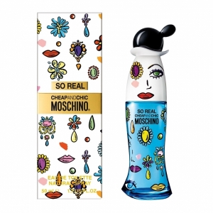 Moschino So Real Cheap and Chic  edt, 30мл Туалетная вода спрей для женщин