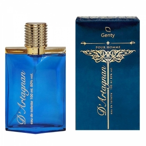 Musketeer D`Artagnan (Мушкетер Артаньян) edt, 100ml Genty parfum, s мужская туалетная вода