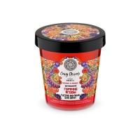"""NATURA SIBERIKA CRAZY DESSERT Пена-bio для ванн густая """"Горячие ягоды"""" витаминная 450 ml банка"""