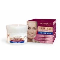 NOVOSVIT 56  Крем для лица ночной Ламеллярный увеличение плотности кожи 50 ml