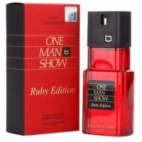 One Man Show Ruby edt, 100ml туалетная вода для мужчин