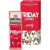 Sergio Nero Friday Lovely PARTY edt, 100ml женская туалетная вода