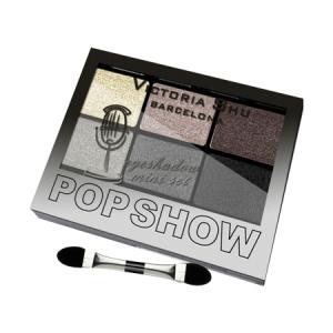 VICTORIA SHU Набор теней для век Pop Show №467 Коричнево-серая гамма