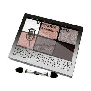 VICTORIA SHU Набор теней для век Pop Show №468 Коричнево-персиковая гамма