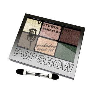 VICTORIA SHU Набор теней для век Pop Show №469 Бежево-изумрудная гамма