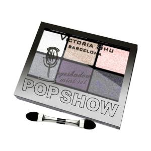 VICTORIA SHU Набор теней для век Pop Show №470 Бежево-сиреневая гамма