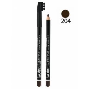 VICTORIA SHU Карандаш для бровей Styler Eyebrow №204 Горький шоколад